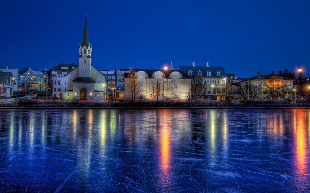 cityscapes-night-reykjavik-iceland